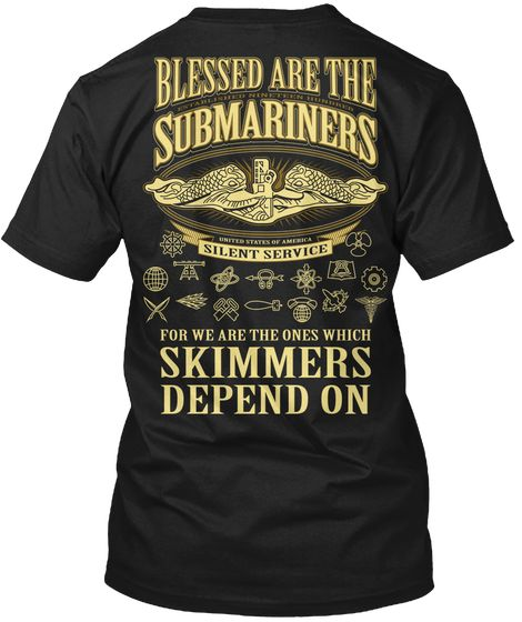 Blessed Are The Submariners T-Shirt
