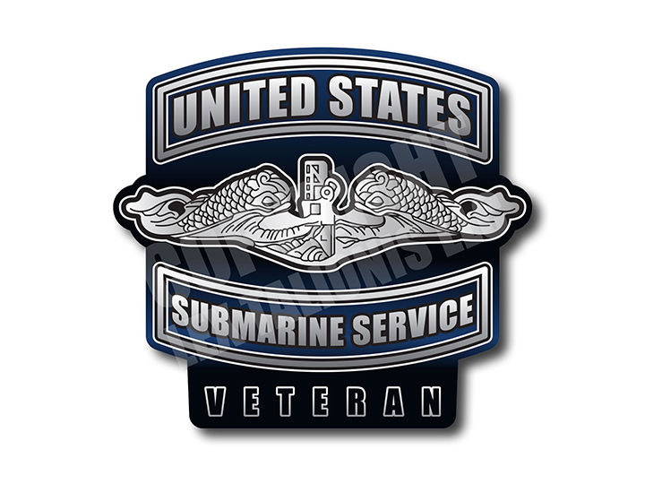 United States Submarine Service Magnet Collection