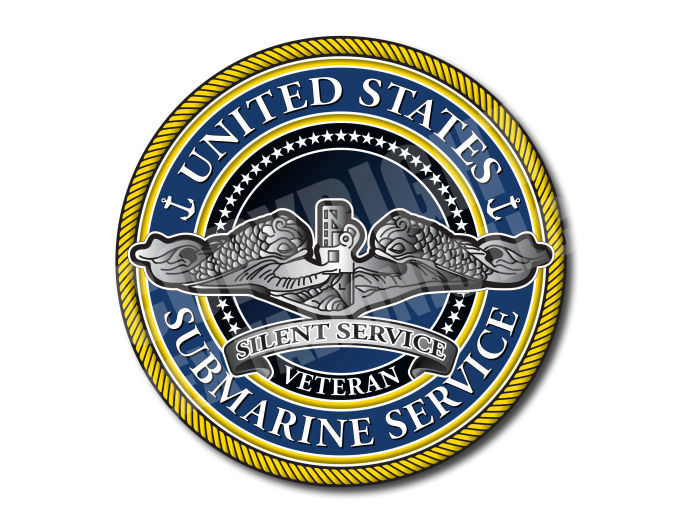 United States Submarine Service Decal Collection