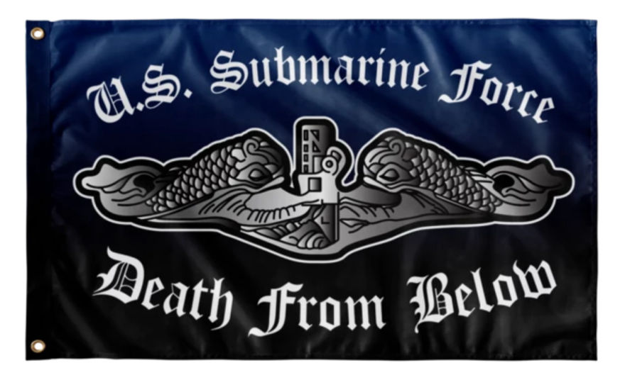 United States Submarine Service Flag Collection