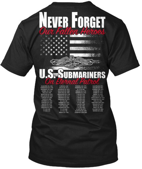 Never Forget Our Fallen Heros T-Shirt
