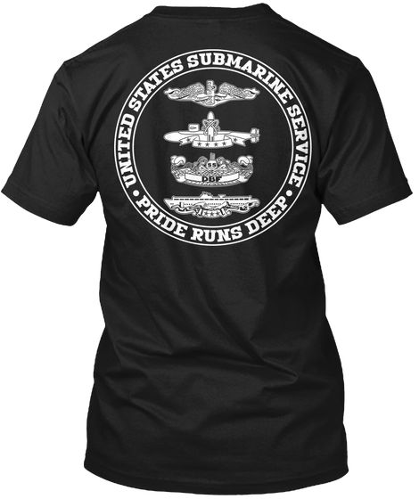 United States Submarine Service Pride Runs Deep