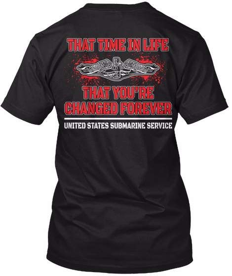 That Time In Life That You're Changed Forever T-Shirt